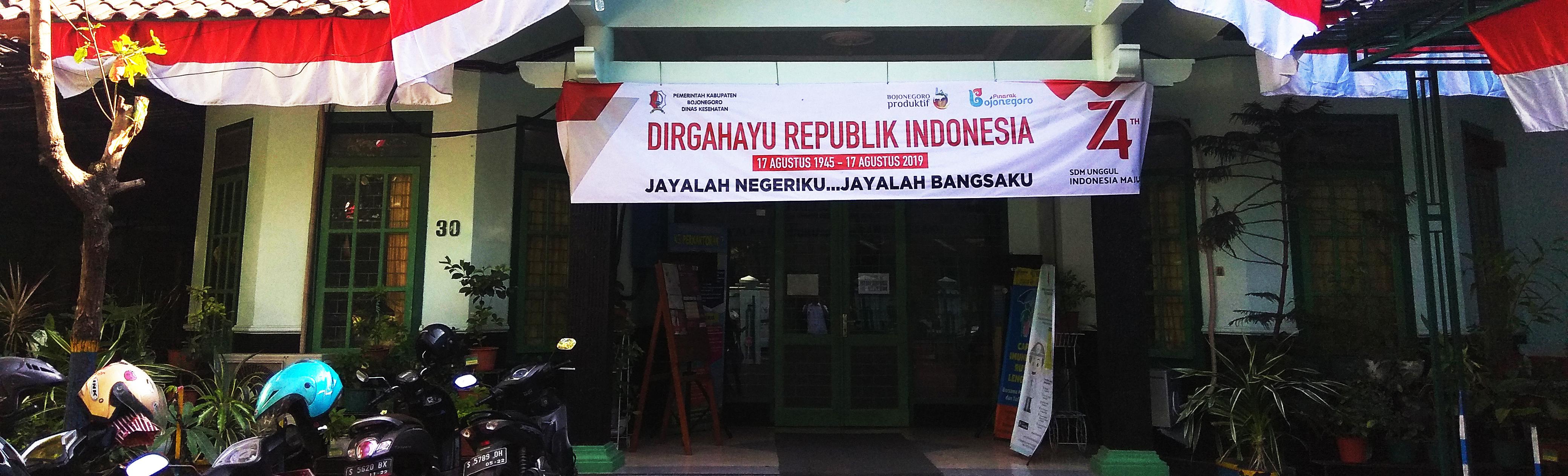 Selamat datang di Website Resmi Dinas Kesehatan Kab. Bojonegoro<BR>Jl. P. Sudirman No. 30 Bojonegoro (0353) 881350